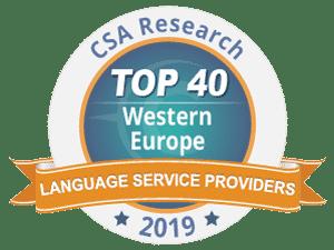 BILIS et le Groupe Tradutec installés dans le TOP 40 européen des sociétés de traduction
